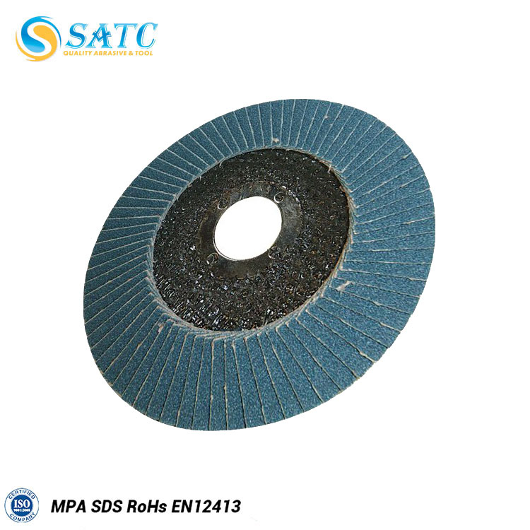 high efficient china supplier silicon carbide flap disc for metal