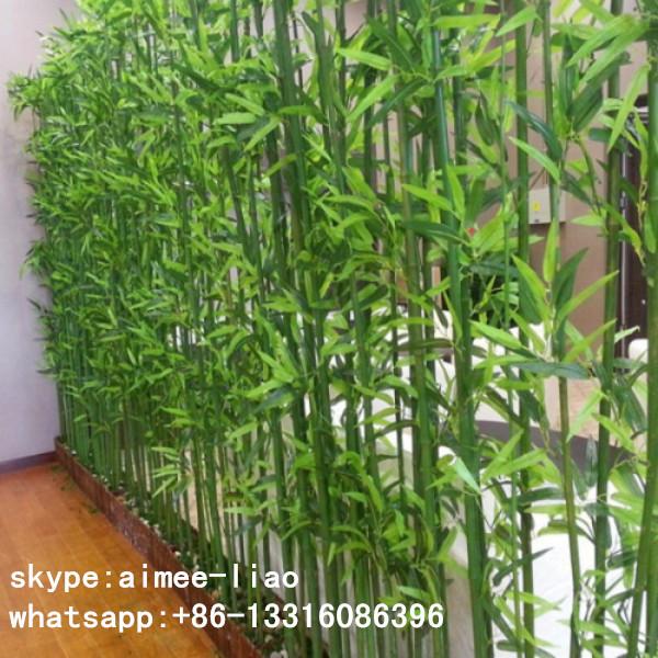 Q091128 Garden Decoration Fake Bamboo Pole Outdoor Artificial ...