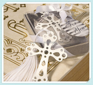 Cross Bookmark For Party Graduation Baby Shower Souvenirs