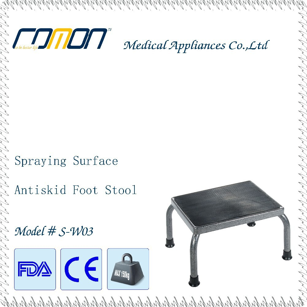 FDA High Strength Footstool with Non Skid Rubber Platform