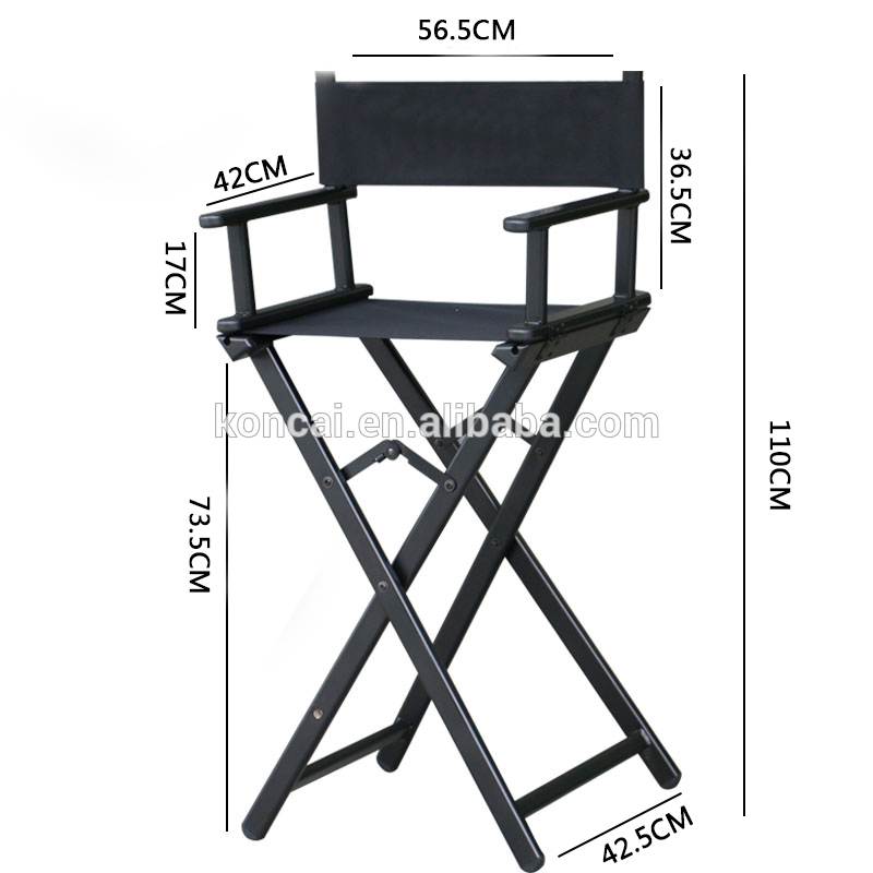 Professional design for the cosmetic and hairdressing salon aluminum Garden Chair