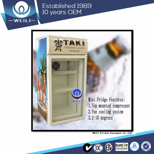 Science and technology leading toughened glass door refrigerator