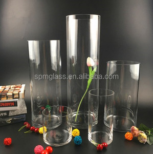 Home Furnishing Hydroponic Tableware Centerpieces Flower Glass Vase