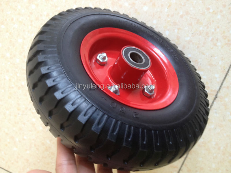8 inch 2.5-4 hand trucks, beach trolleys, jockey wheels, light materials handling equipment small wheel barrow tyre 2.50-4