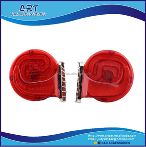 universal plastic automotive denso horn with red