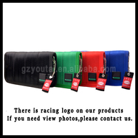 2016 Newest Japstyle Wallet JDM VERSION Racing Seat Fabric and Leather Wallet JDM Racing Wallet