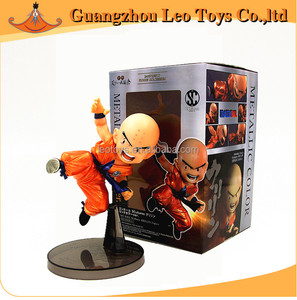 Retail Dragon Ball Z SCulture 2 Krillin Metallic Color Version Banpresto Figure Coloseum Super Saiyan Action Figure