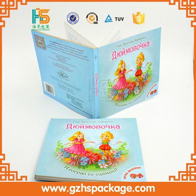 Kids Fairy Tale Books For Girls,Custom Print Comic Book Of