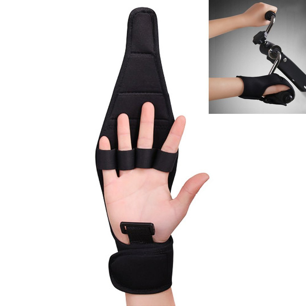 Finger Splint Brace ability,KIKIGOAL Finger Gloves Brace Elderly Fist Stroke Hemiplegia Hand Training