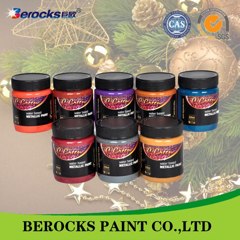 acrylic latex spray paint metallic paint/paint market for metal