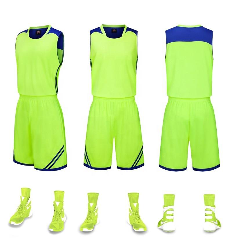 5691d8f4a71e3 Fabricante de China de la última Jersey de baloncesto de diseño de Color  verde de la