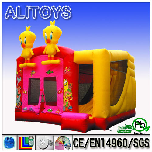 Ali inflatable combo,inflatable game,inflatable bouncer slide