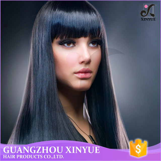 Luxury 5A-8A Quality Peruvian Natural Human Hair Weave Silky Straight Hair Bundles