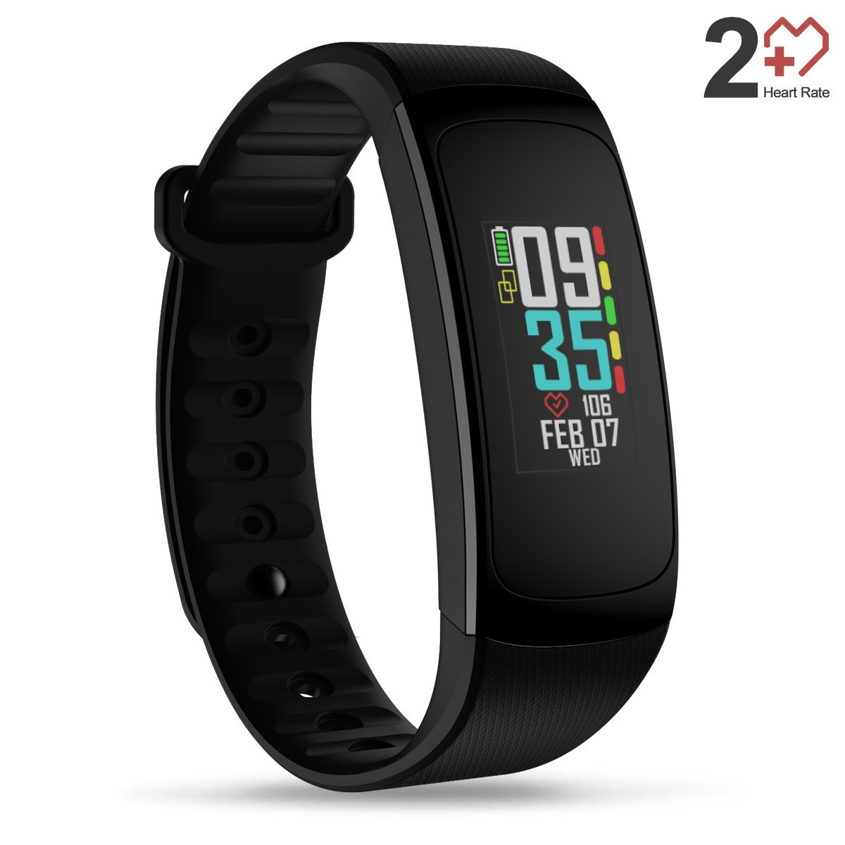 Zeblaze PLUG C Always-on Color Display Heart Rate Sleep Monitor Multi-language Stopwatch Smart Watch