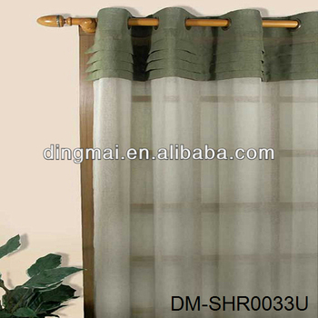 Merveilleux Sheer Curtain For Garage Door Curtains