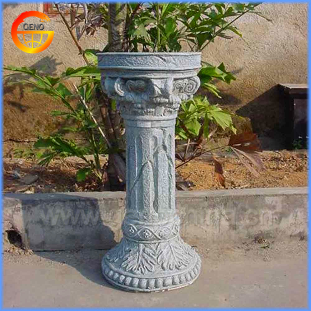 Home And Garden Fiberstone Decorative Pillar Moulding