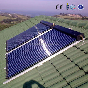 new heat pipe split solar water heater for home