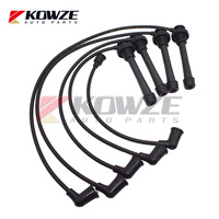 Spark Plug High Tension Distributor Ignition Cable Set For Mitsubishi Space Wagon Lancer Colt MD198216 MD334017