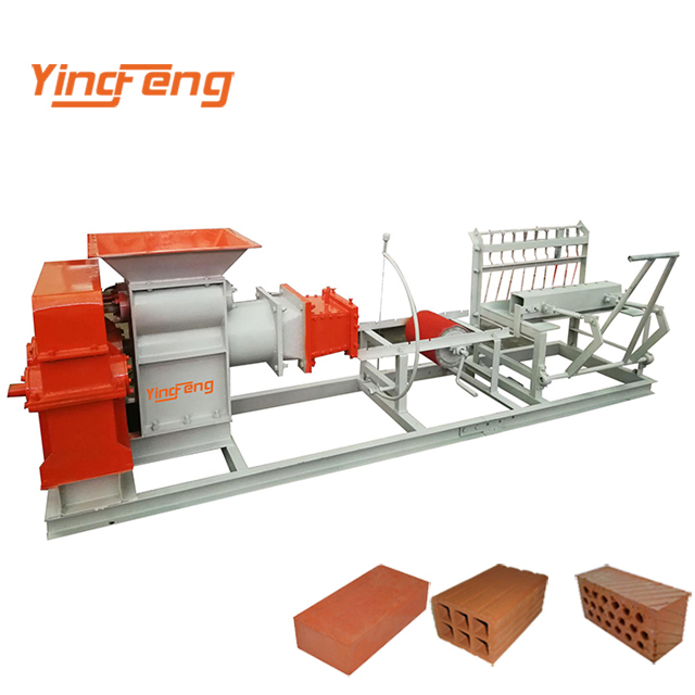 JZ400 Semi-automatic small production line solid clay brick making machinery