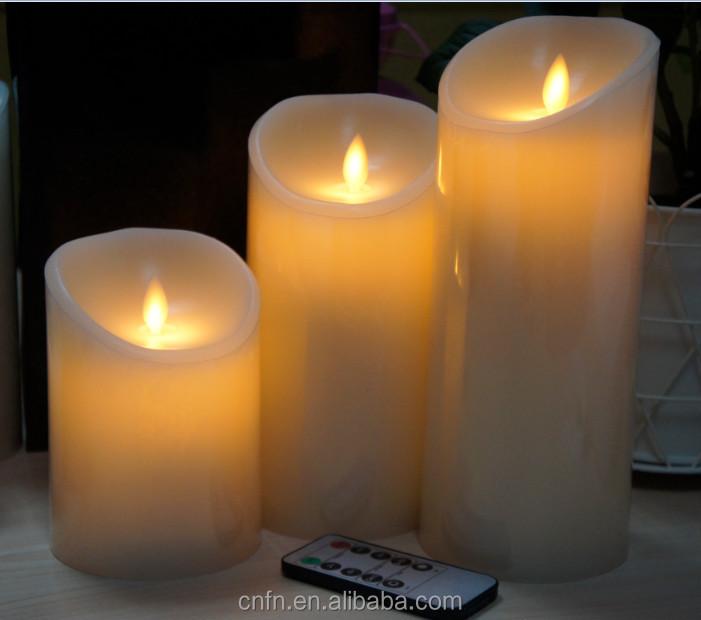 Decorative Sans Flamme Grand Bougeoirs Pour Mariage Avec Minuterie
