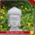 Buddha head carving stone garden ornament for sale
