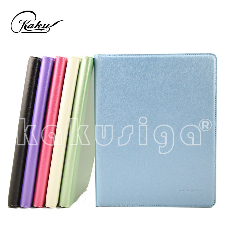 Kaku caliente para ipad air smart cover para ipad air con luxury pure color
