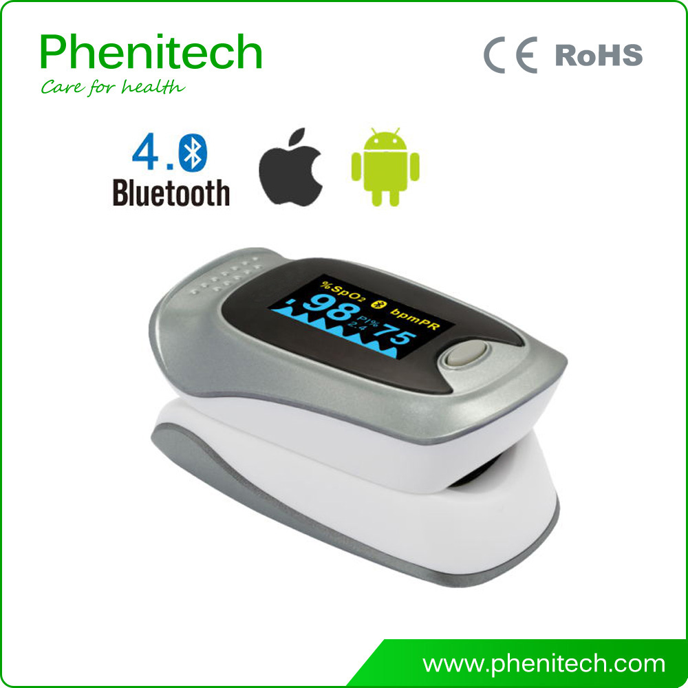 New Pediatric Bluetooth Pulse Oximeter Digital Fingertip Pulse Oximeter