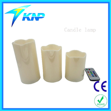 Plastic Candle Light With Remote Controller Glow Candles Wedding Decoration Led Candles