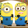 3D cartoon soft silicone phone case for iphone 5 5s 6 6s 6s plus