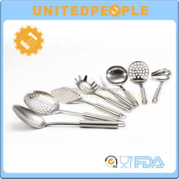 8 piece stainless steel kitchen tools set kitchen for Lagostina kitchen tool set 8 pc