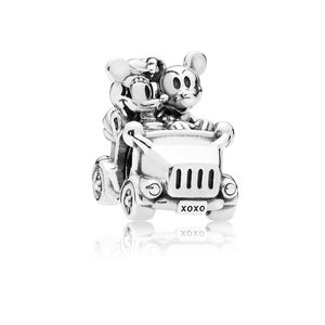 Beautifully Detailed 925 Sterling Silver Car Charm