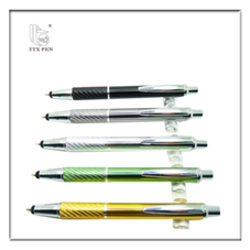 2018 Brand Classic Aluminium Good Writing Pens With Custom Logo