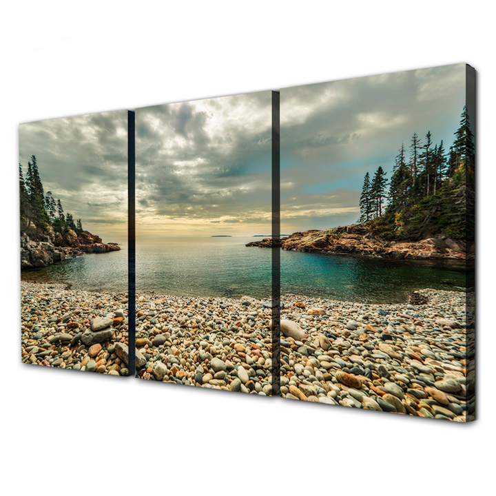 Custom order wholesale stretched canvas prints wall art paintings for living room