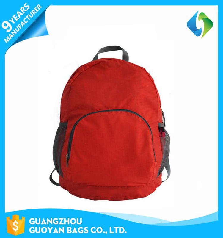 China factory new design custom made foldable hiking laptop backpack