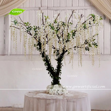 GNW CTR161024-003 Mini wisteria tree wedding table centerpiece for wedding decoration