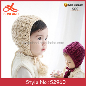 S2960 New 2017 Newborn Baby Hats Knitting Patterns Handmade Crochet ...
