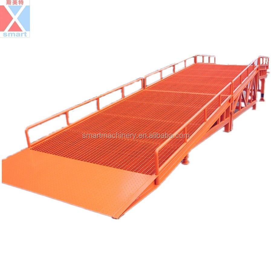 Gambe di sostegno pieghevole smontabile carico del for Rampe di carico per container