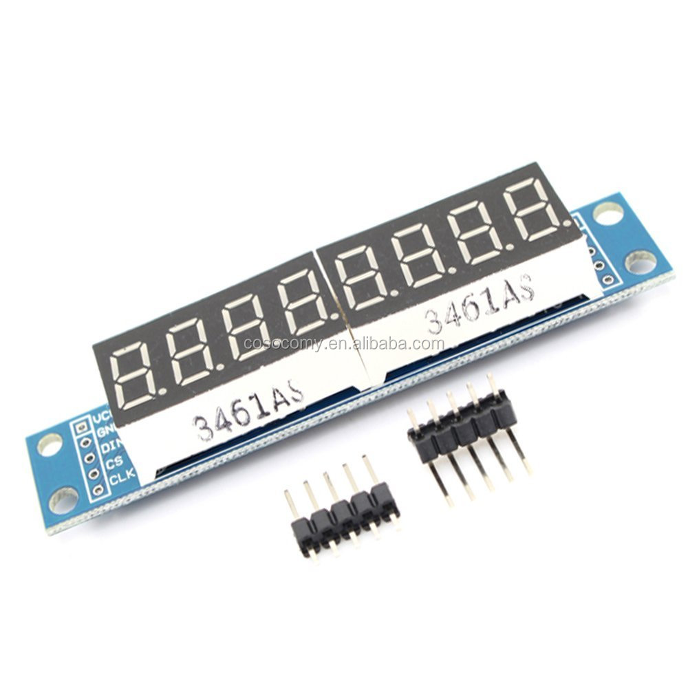 MAX7219 CWG 8-Digit Digital Display Control Module 8-Digit 7 Segment Digital LED Display Tube for Arduinos