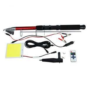 Hot Sales 12V 100W Telescopic Outdoor Fishing Rod Road Lamp Led Camping Light