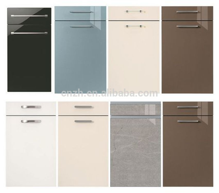 Kitchen Cabinet Doors Price List: Cheap Mdf Pvc Kitchen Cabinet Door Price
