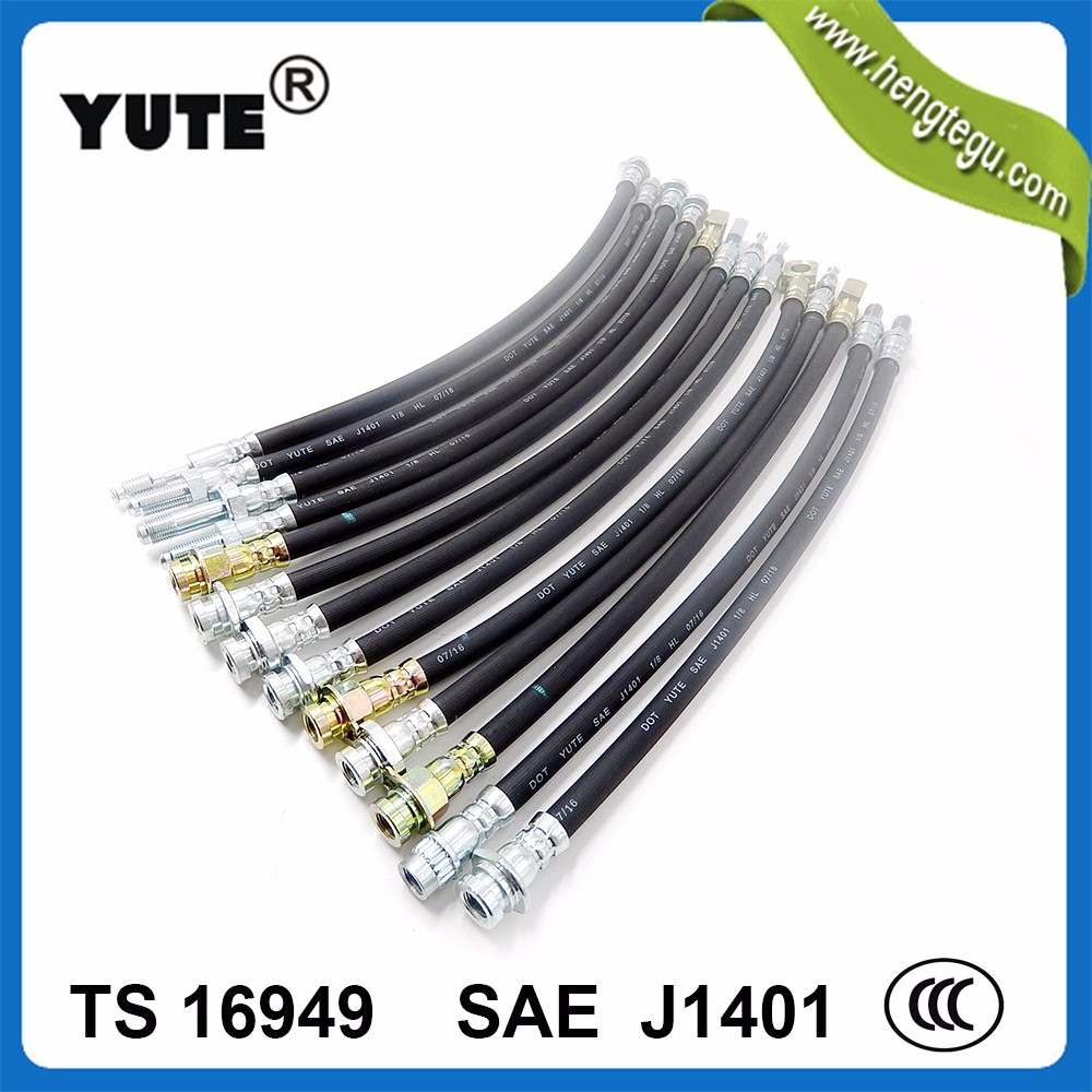auto parts factory 1/8 inch high pressure dot sae j1401 hydraulic brake hose