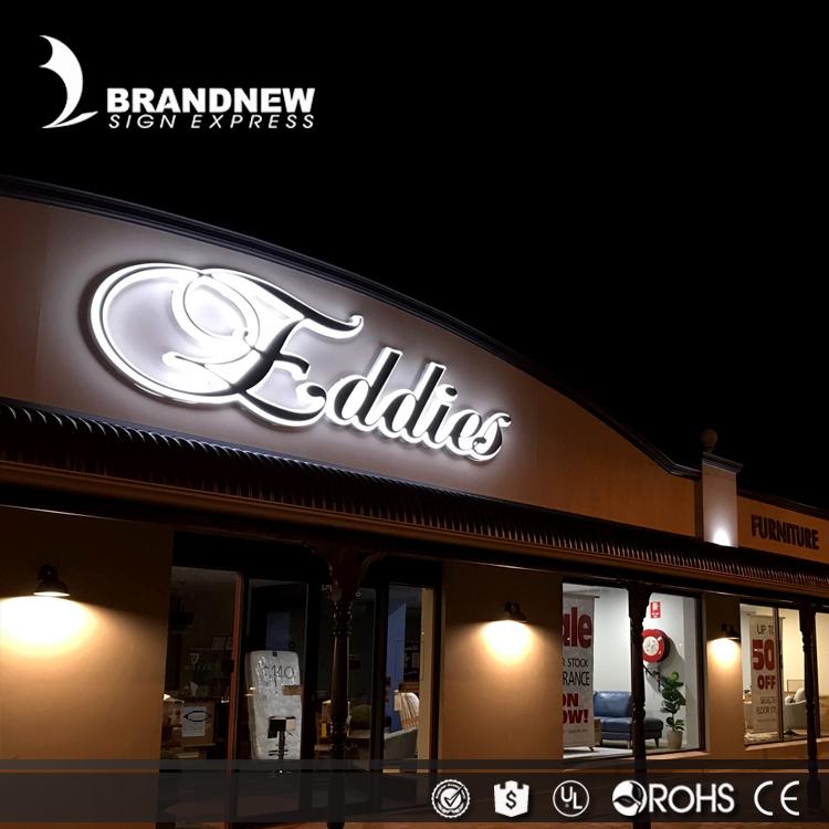 تصاميم لوحة اسم متجر مصنعة حسب الطلب للتوقيع