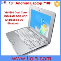 10 inch Student Mini Cheap Netbook with Bluetooth WIFI 710F
