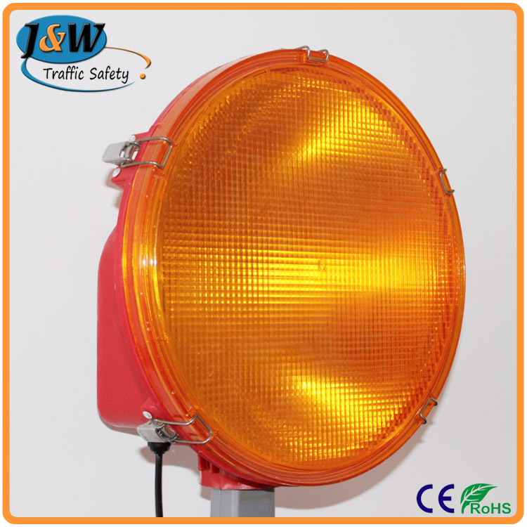 340mm Halogen Xenon LED Warning Light / Traffic Warning Light for Road Works