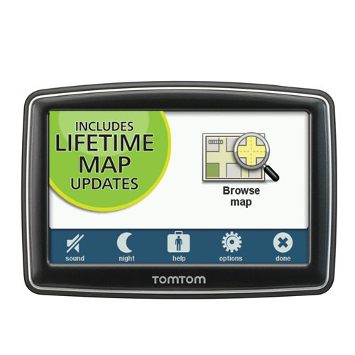 TomTom XL 350M 4.3-Inch Portable GPS Navigator (Lifetime Maps Edition)(Discontinued by Manufacturer)