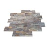 Chinese Natural Rusty Slate Culture Stone Wall Pattern