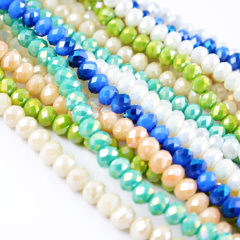 Wholesale top quality fashion crystal beads, glass beads for jewelry making