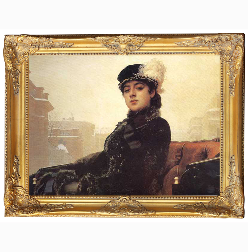 Wholesaler european classic antique wood frames for oil painting