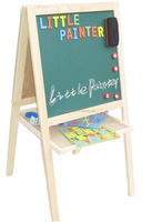 2015 Kids Painting Wooden Easel Small Black Board Magnetic Board ...