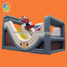 Top best seller inflatable hippo slide